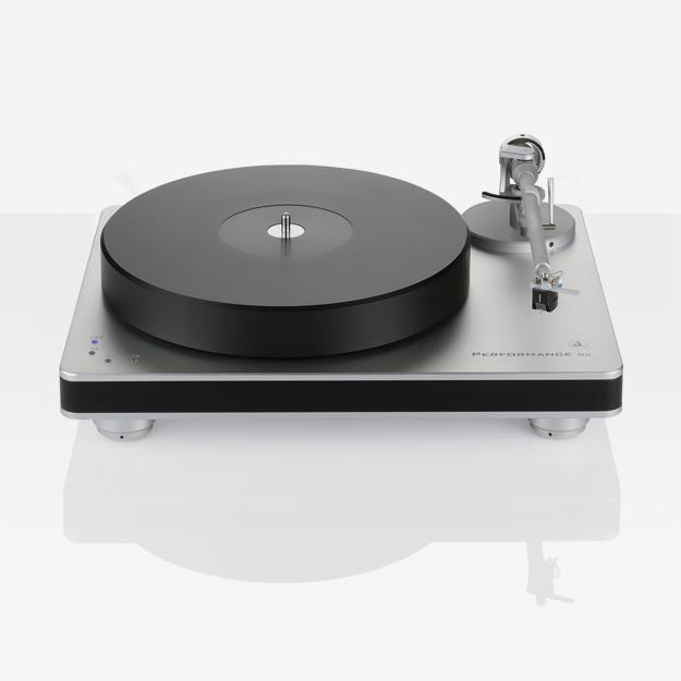 Clear audio Performance DC Platenspeler Zilver/ Zwart