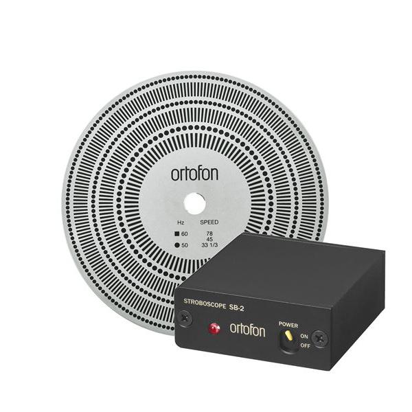 Ortofon SB-2 platenspeler stroboscope