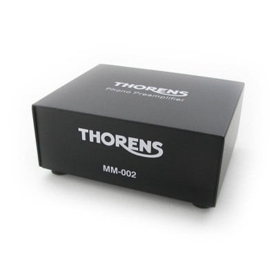 Thorens MM 002 phono voorversterker voorkant
