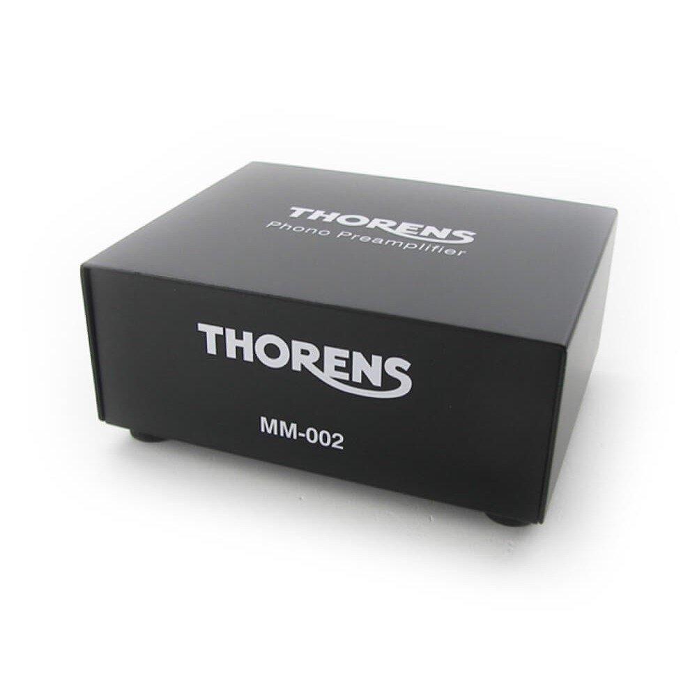 Thorens MM 002 phono voorversterker voorkant