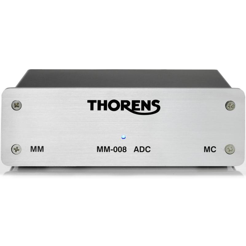 Thorens MM 008 ADC phono voorversterker voorkant