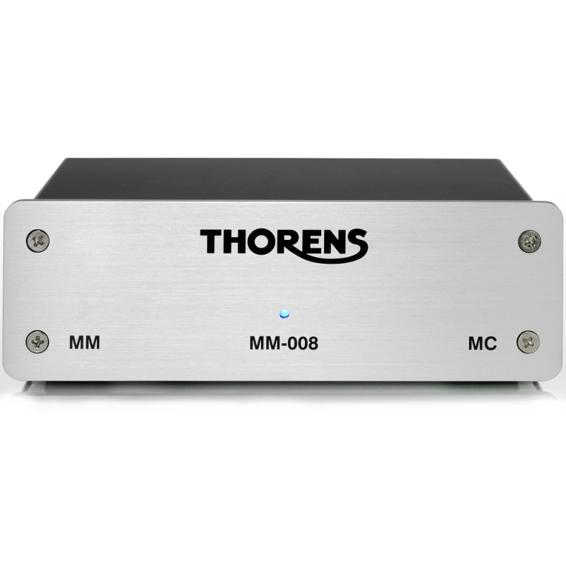 Thorens MM 008 phono voorversterker voorkant