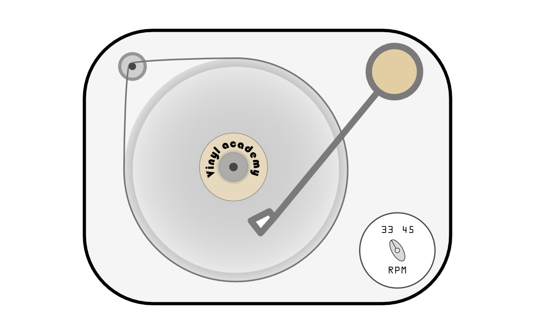 Verschil 33-1/3 en 45 toeren platen