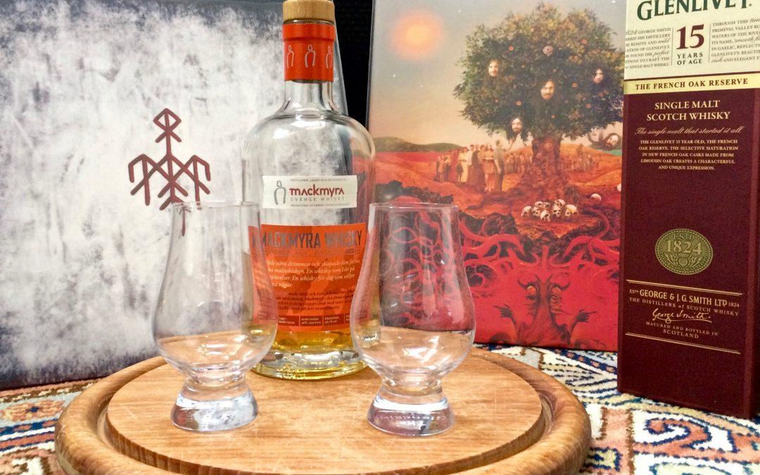 Vinyl & Whisky, een perfecte combinatie