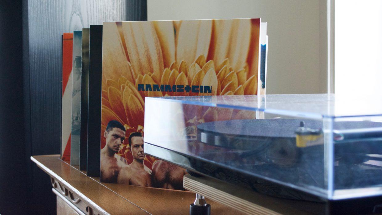 rammstein XXI platenspeler vinyl box