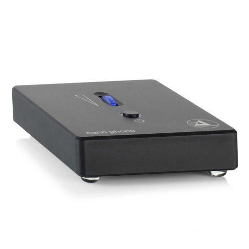 Clearaudio Nano Phono V2 Phono Voorversterker - Zwart